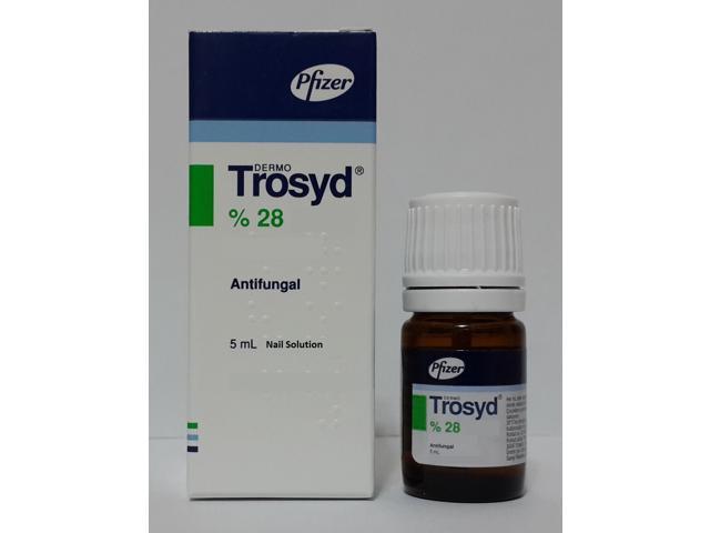 Trosyd 28 Tioconazole Nail Fungus Treatment Trosyl