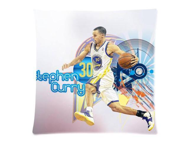 sports shoes a4781 3dcc6 Wholesale Soft Cotton Pillowcase Print NBA Golden State Warriors Famous  Player Stephen Curry Decorative Cushion Covers 2 Sides 18 X 18-1 -  Newegg.com