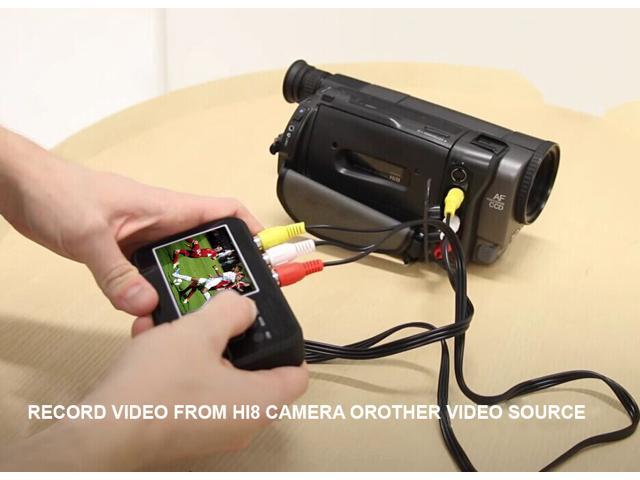 DIGITNOW!Video Grabber Box & Audio Grabber Box- Convert VHS Tapes to  Digital format! Video Source: VCRs, Camcorders, DVD Players/DVRs, Gaming  Digitize