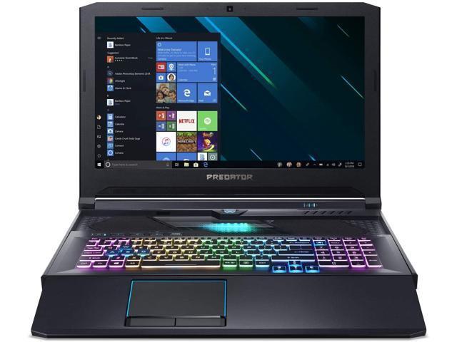 "Acer Predator Helios 700 17.3"" Gaming Laptop i7-9750H 512GB SSD W10 RTX 2080"
