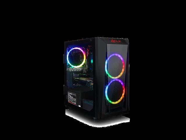 CLX SET with AMD Ryzen 3 3200G 3 6GHz, GeForce GTX 1650 4GB, 8GB Mem, 480  SSD, WiFi, MS Win 10 Home - Newegg com
