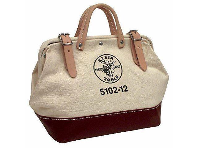 af697e5d4f4d Klein Tools 5102-12 12-Inch Canvas Tool Bag, New,ping - Newegg.com