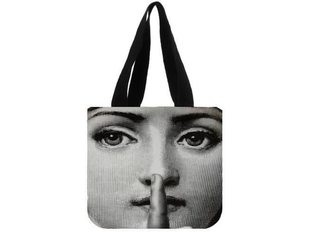 bbd15ce99835 Fornasetti New Foldable Shopping Bag Reusable Tote Pouch Women Travel  Storage Handbag Fashion Shoulder Bag Female Canvas Shopping Bag  size:12.2x11x3.3 ...