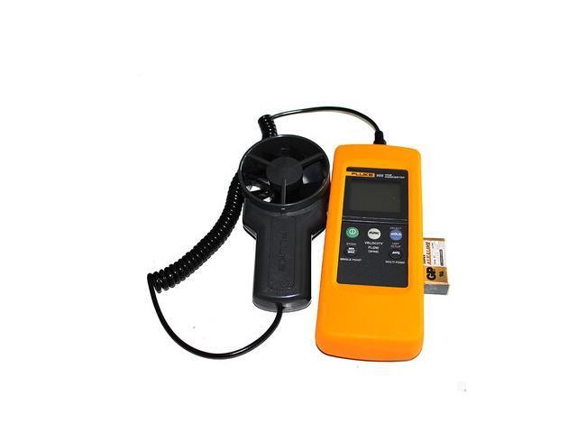 FLUKE 925 Impeller Anemometer Meter Wind Speed Air Flow Velocity  Temperature F925/FLUKE925 - Newegg com
