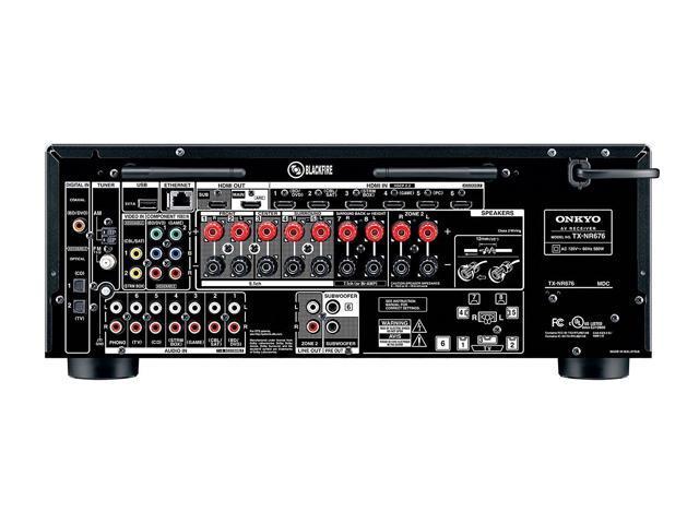 Onkyo TX-NR676 7 2-Ch Network A/V Receiver - Newegg com