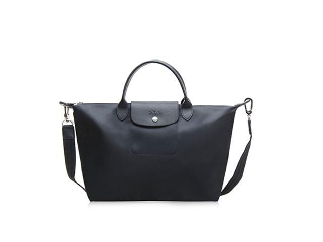 cff50d8b35 Longchamp Le Pliage Neo Medium Handbag Black 1515578001 ...