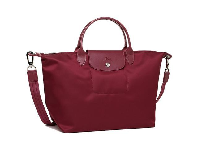 a4f06f865f86 Longchamp Le Pliage Neo Medium Handbag Wine Red 1515578009 ...