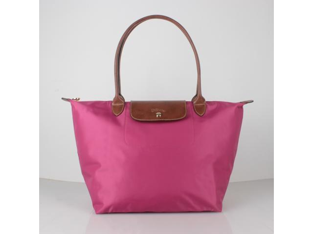 Longchamp Le Pliage Large Nylon Tote Bag Fuchsia 1899089455 ... 7f3bdf57b3443