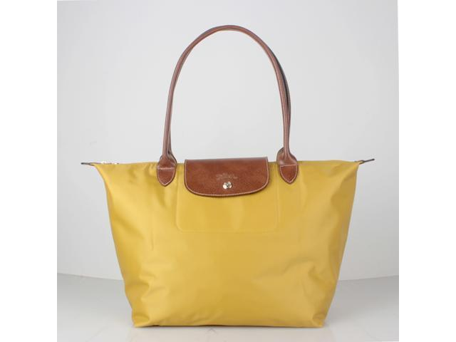 04a4e3832c04 Longchamp Le Pliage Large Nylon Tote Curry 1899089432 - Newegg.com