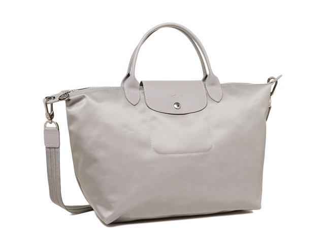 9fe123b6d9ad Longchamp Le Pliage Neo Medium Handbag Pebble Galet 1515578274