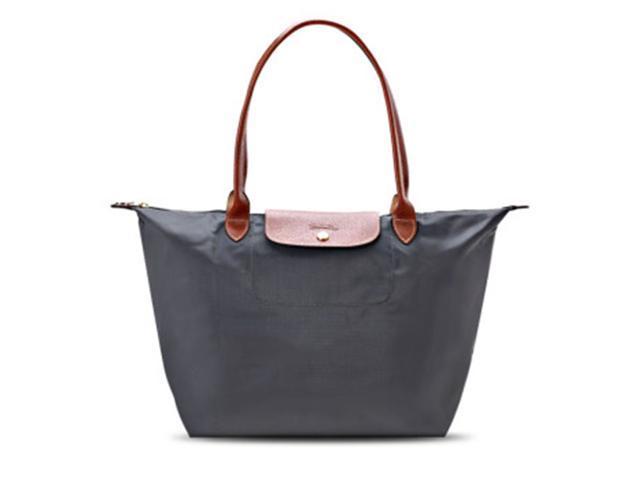 6cfa657522392 Longchamp Le Pliage Nylon Large Tote Bag Graphite 1899089897 ...