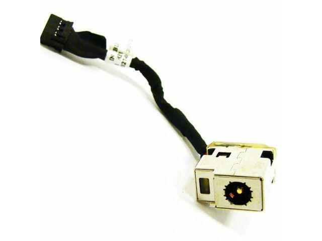 DC Power Jack in cable harness for HP PAVILION 2000-150CA 2000-210US 2000-216NR