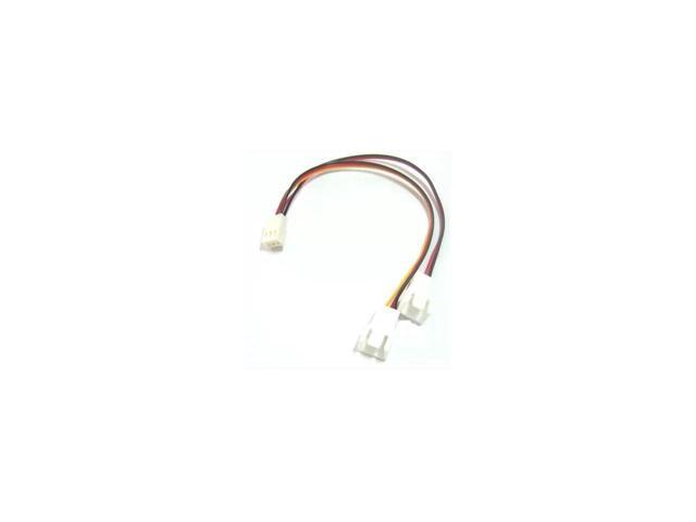 4Pin Male to Female Connector Y-Splitter Adapter Cable For Computer Case Fan