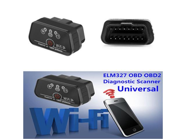 KW901 ELM327 OBD2 OBDII WiFi Car Fault Diagnostic Scanner Tool For iOS Android
