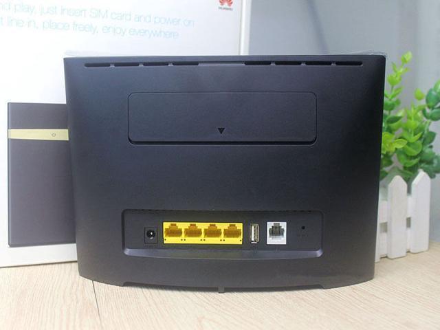 Unlocked B525s-23a 300Mbps 4G LTE FDD/TDD Advanced CAT6 Wireless AC 1000M  LAN Wifi Router modem - Newegg com