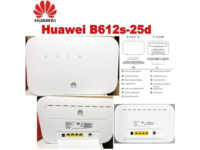 UNLOCKED B612s-25d 4G LTE Cat 6 CPE wireless router Home Broadband Modem  WiFi Router 300Mbps - Newegg com