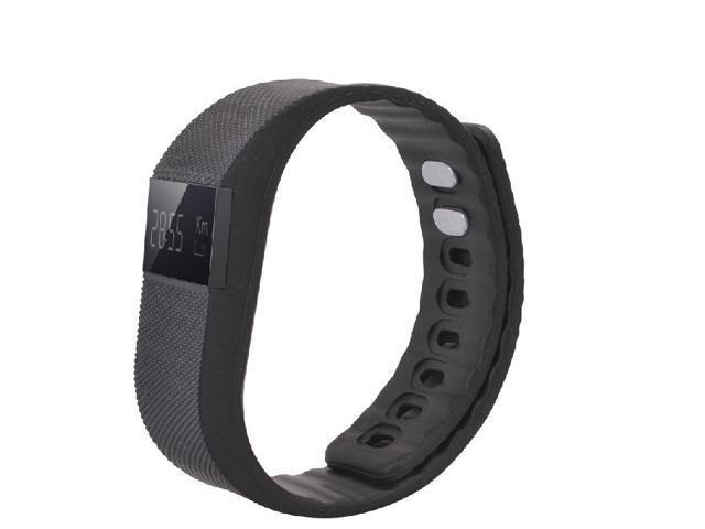 Nek Tech Tw64 Smart Wristband Pedometer Bracelet Silicone Strap Aluminium Case Anti Lost Waterproof Sport