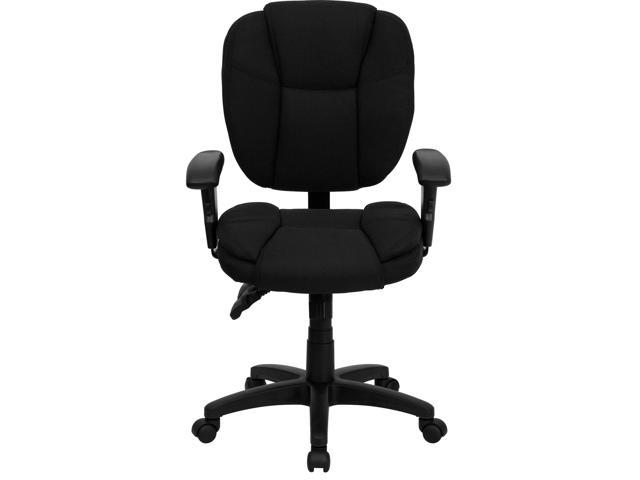 Hercules Series 24 7 Intensive Use 300 Lb Rated Black Fabric Multifunction Ergonomic Office Chair With Seat Slider Newegg Com