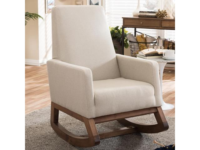 Magnificent Baxton Studio Yashiya Mid Century Retro Modern Light Beige Bralicious Painted Fabric Chair Ideas Braliciousco