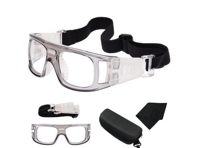 a17943beccf Fashion Basketball Soccer Football Sports Protective Eyewear Sport Goggles  Eye Safety Glasses Gray