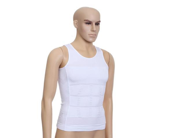 667cfeef1e Seamless Mens Slimming Body Slim N Lift Shaper Belly Buster Underwear Vest  Shirt Gifts Sports