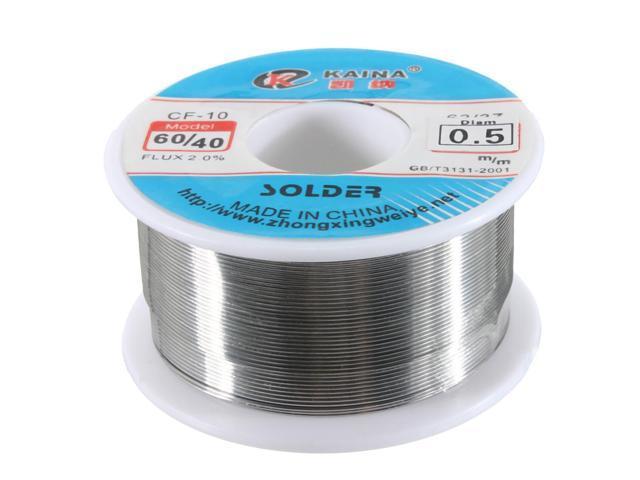 Reliable 0.5mm 60/40 Tin lead Solder Wire SnPb Rosin Core Soldering ...