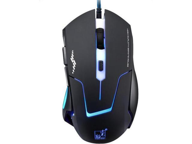 054038dd939 Chasing light leopard T7 USB wired optical mouse electronic games ...