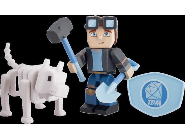 Tube Heroes DanTDM Minecart Action Figure Hero Pack - Newegg com