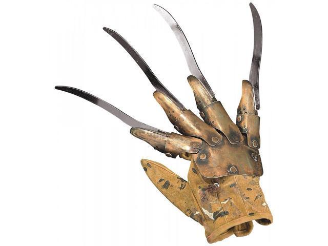 A Nightmare On Elm Street Deluxe Freddy Metal Glove