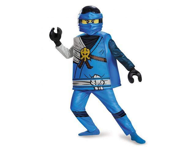 Lego Ninjago Jay Deluxe Child Costume Large 10 12 Newegg Com