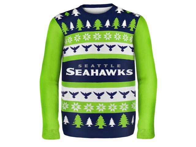 factory authentic 0be60 db6f0 Seattle Seahawks Wordmark NFL Ugly Sweater XX-Large - Newegg.ca