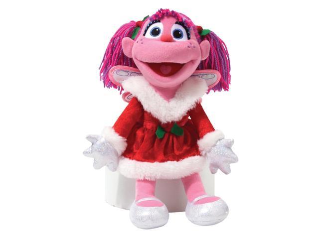 Plush Sesame Street Holiday Abby Cadabby Soft Doll Gund Licensed 4036387