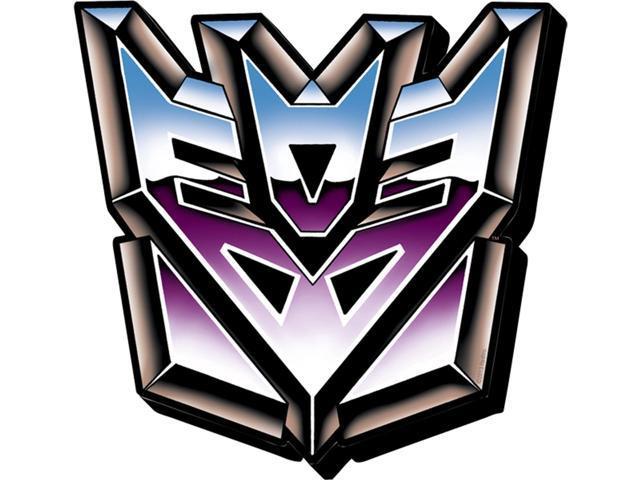 Universal Studios Exclusive Transformers Retro Decepticons Logo 3-D Magnet New