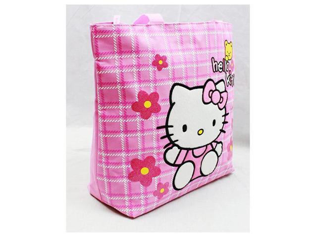 518adccf08b2 Tote Bag - Hello Kitty - Teddy Bear New Gifts Girls Hand Purse 81610 ...
