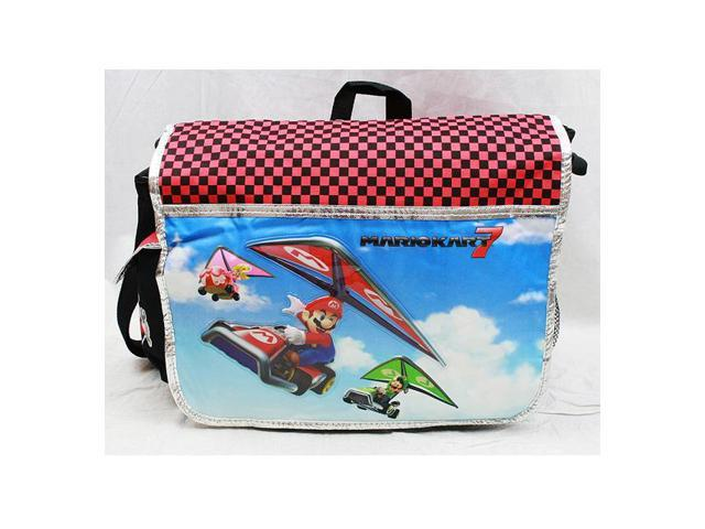 263e78d63b2e Messenger Bag - Nintendo - Super Mario   Luigi Kart 7 New School Bag nn10841