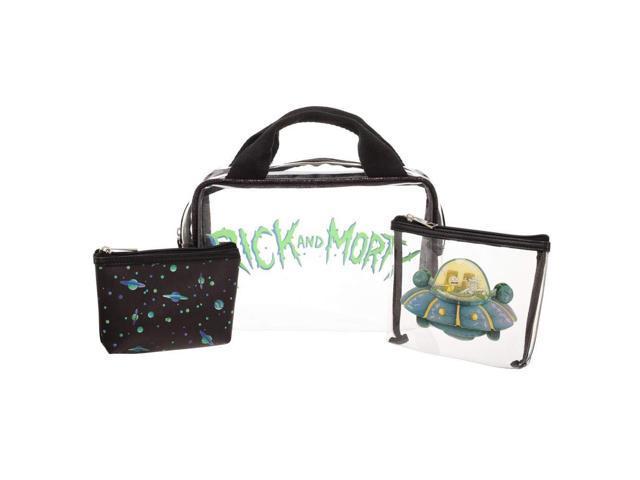 Cosmetic Bag - Rick & Morty - Portal 3 Pcs Travel set New Licensed  xb6r50ric - Newegg com