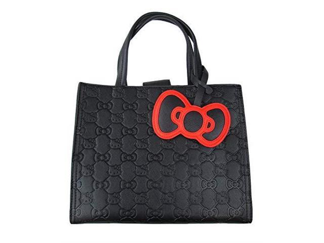 500992e08 Tote Bag - Hello Kitty - Bow Quilted Black New santb1594 - Newegg.com