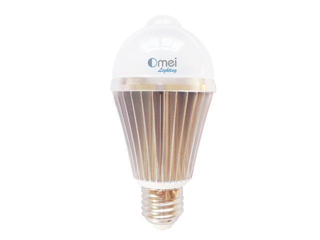 8 W E26 E27 Warm White Led Motion Sensor Light Bulb Activated