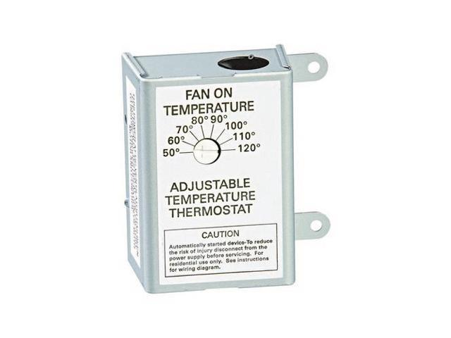 Air Vent Inc 58033 Thermostat Pwrvent Auto
