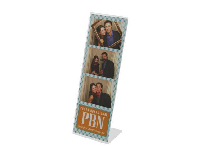100 Slanted Acrylic Photo Booth Frames For 2x6 Photo Strips Neweggcom