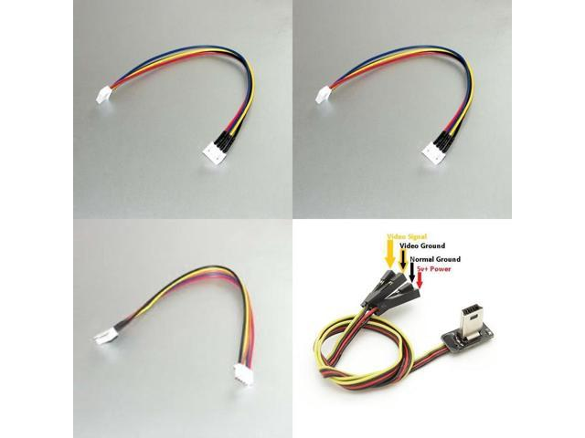 HobbyFlip FPV Transmitter Video Output USB Cable JST-XH 3S 11 1v