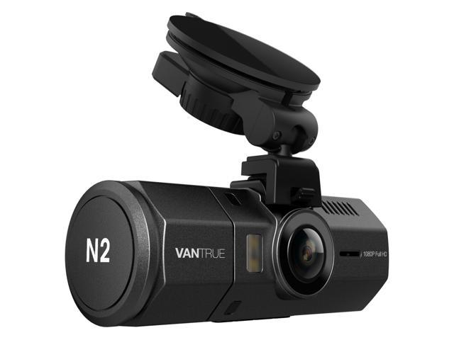"Vantrue N2 Dual Dash Cam - 1080P FHD +HDR Front and Back Wide Angle Dual Lens In Car 1.5"" LCD Dashboard Camera DVR Video Recorder with G-Sensor, Parking Mode & Super Night Vision"