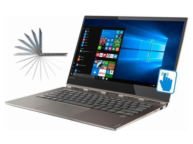 "Lenovo Yoga 920 13.9"" Full HD Premium Convertible 2-in-1 Thin and Light Laptop (Intel 8th Gen i7-8550U 4-C, 8GB RAM, 2TB PCIe SSD, 13.9"" FHD 1920x1080 Touch, Fingerprint, Thunderbolt3, Win 10 Pro)"