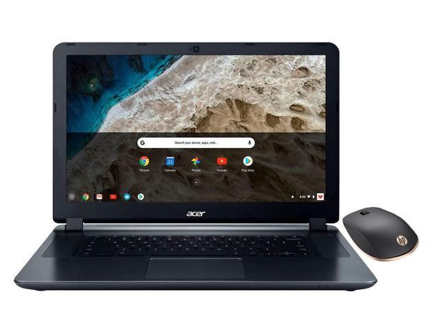 2018 Acer 15 6 Hd Wled Chromebook With 3x Faster Wifi Laptop Computer Intel Celeron Core N3060