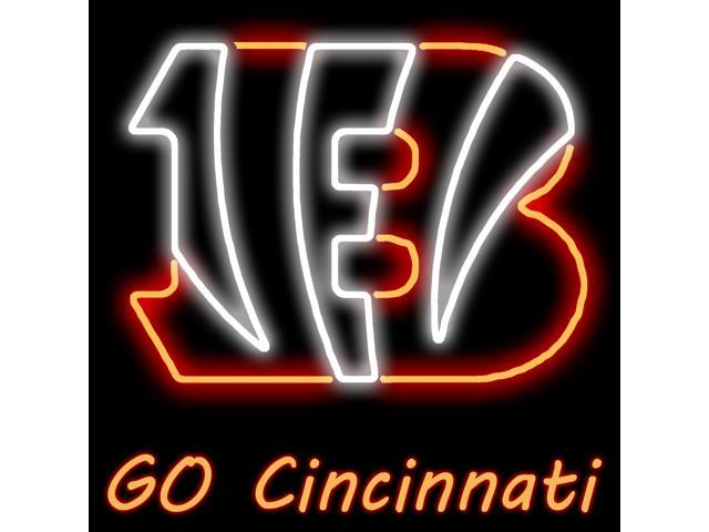 eef00b37 Fashion Neon Sign Cincinnati Bengal tiger Pure Handcrafted Real Glass Lamp  Neon Light Neon Sign Beerbar Sign Neon Beer Sign 19x15 - Newegg.com