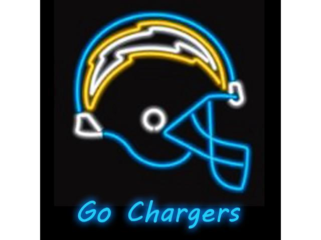 Fashion Neon Sign Nfl San Diego Chargers Handcrafted Real