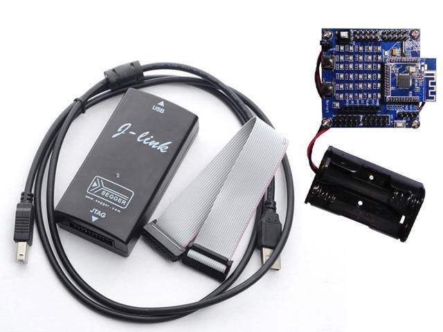 NRF51822 Module BLE4 0 Module With OLED Screen Development Board Kit +  J-LINK downloader - Newegg com