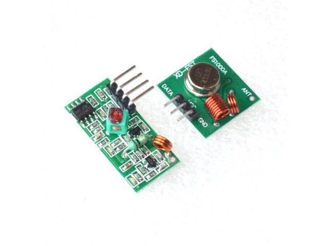 Mhz rf transmitter and receiver kit for arduino arm mcu