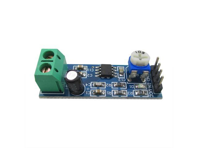 LM386 Audio Amplifier Module 10K Adjustable Resistance for Raspberry Pi  Arduino 5V-12V 200 multiplier benefits circuit design - Newegg ca