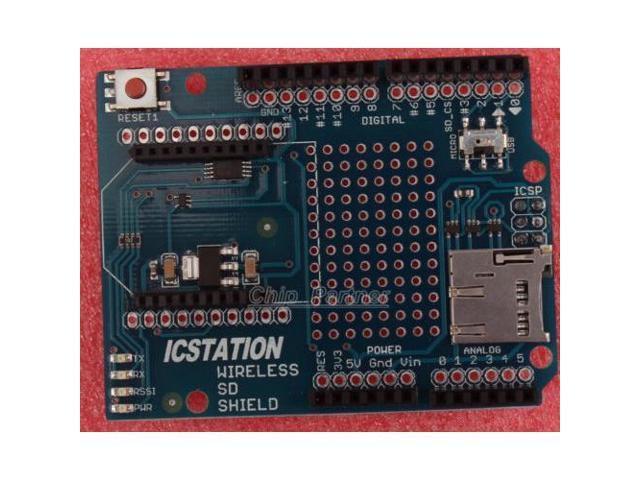 ICSJ010A Wireless SD Shield for Arduino Xbee Module SD Card Socket -  Newegg com